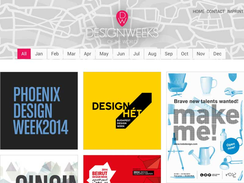 Designweeks of the World