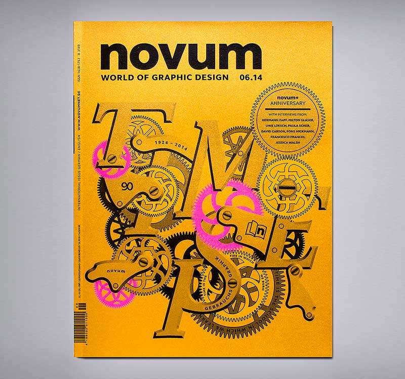 90 Jahre novum World of Graphic Design